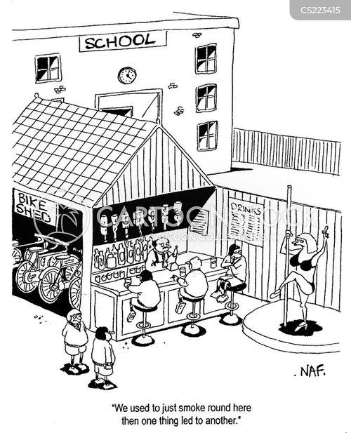 exacerbation cartoon