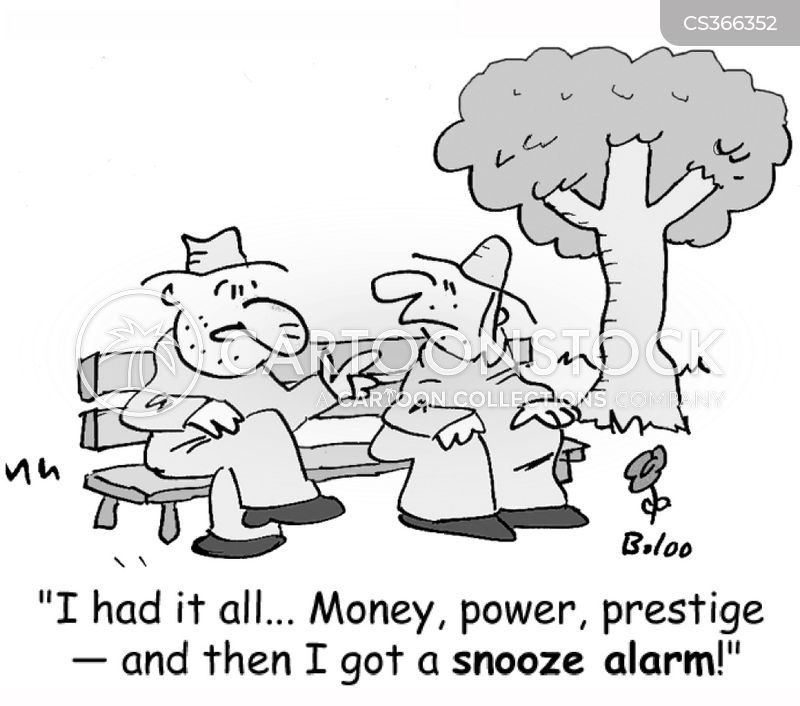 oversleep cartoon