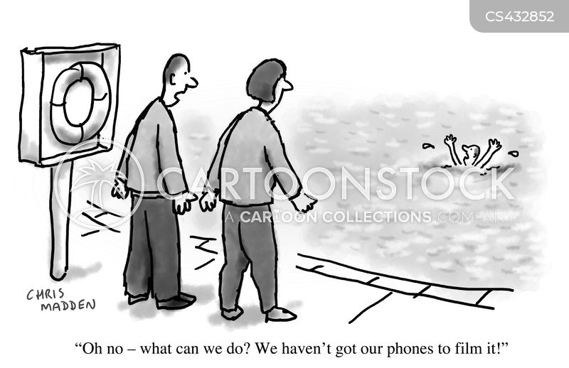 bystander cartoon