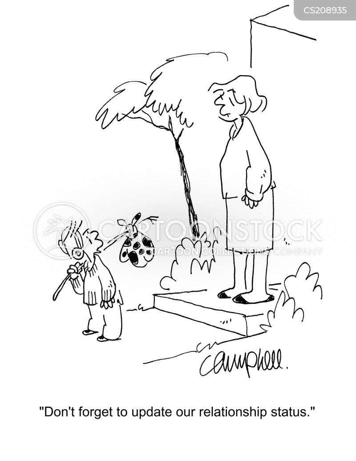 relationship statuses cartoon
