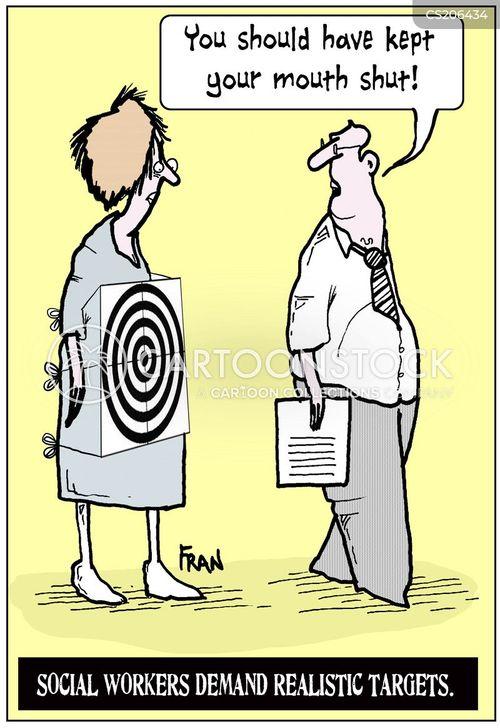 social works cartoon