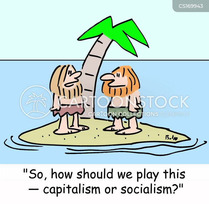 socialist cartoon