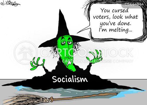 right wingers cartoon