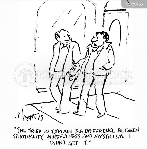 mysticism cartoon