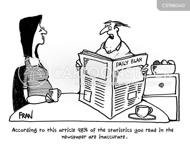 journalistic standards cartoon