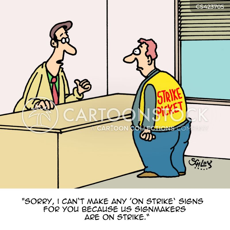 sign maker cartoon 2 of 6