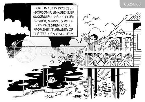 effluent cartoon
