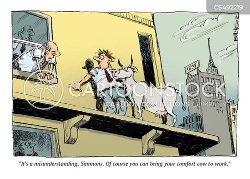 emotional support animals cartoon