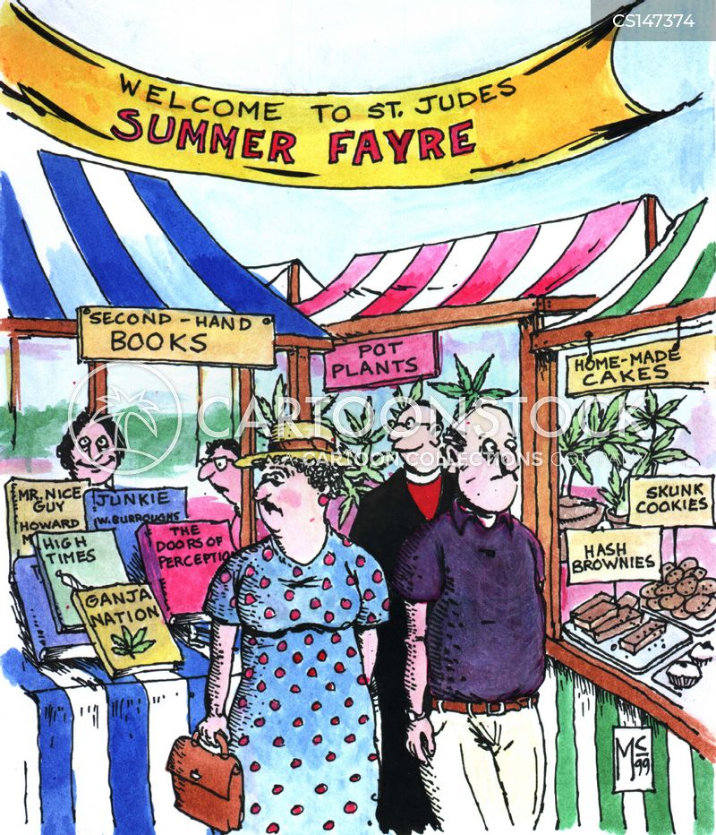 summer fete cartoon