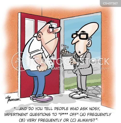 rude manners cartoon
