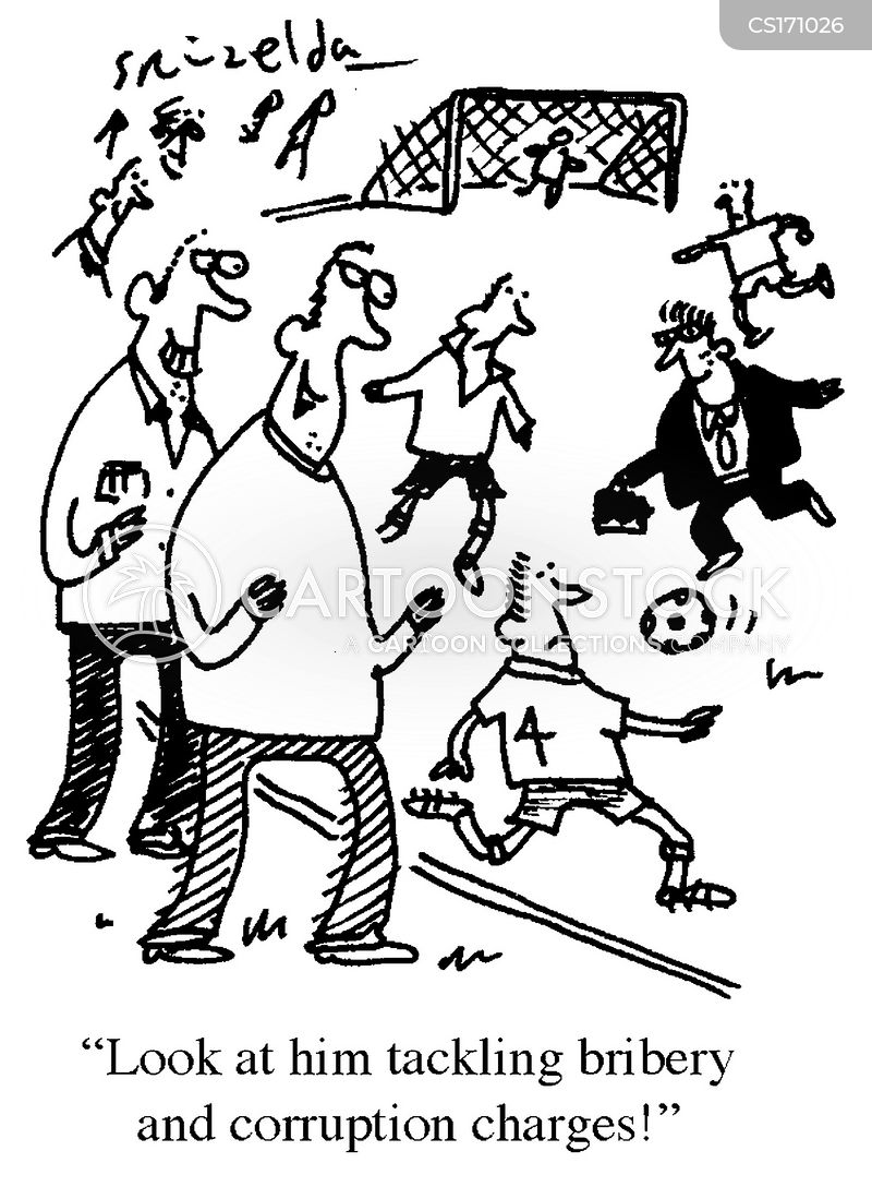 tackle cartoon