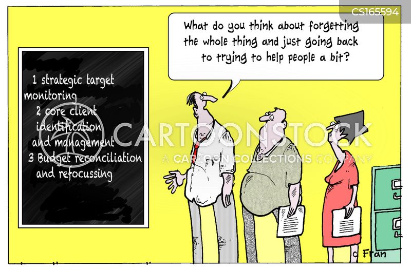 social problem cartoon