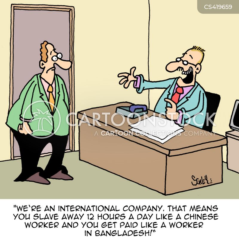 labour rights cartoon