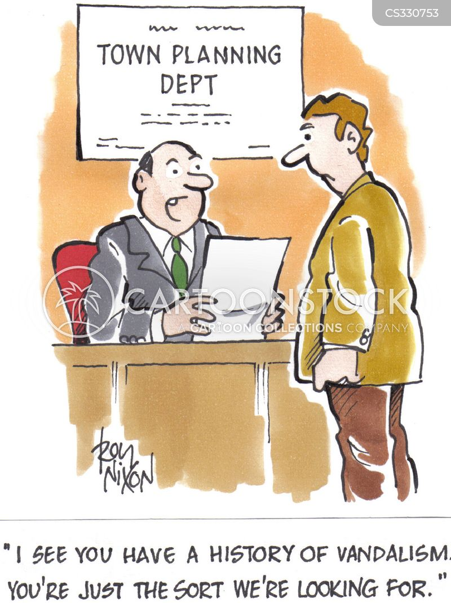 town councillors cartoon