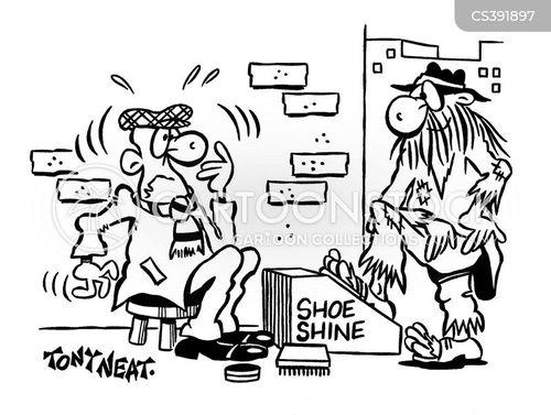 polished cartoon