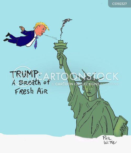 fresh air cartoon