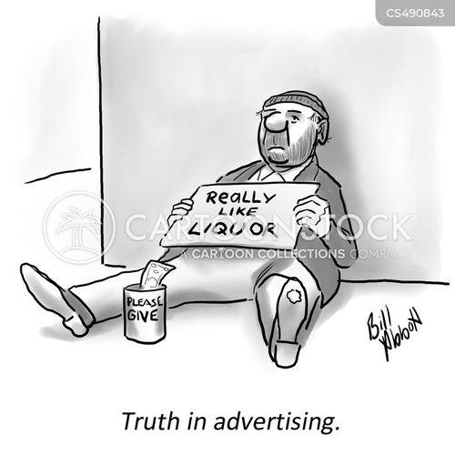 truth in advertising cartoon