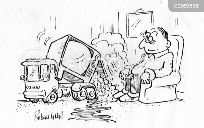 dump truck cartoon