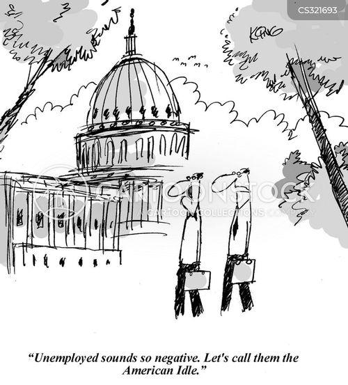 the white house cartoon