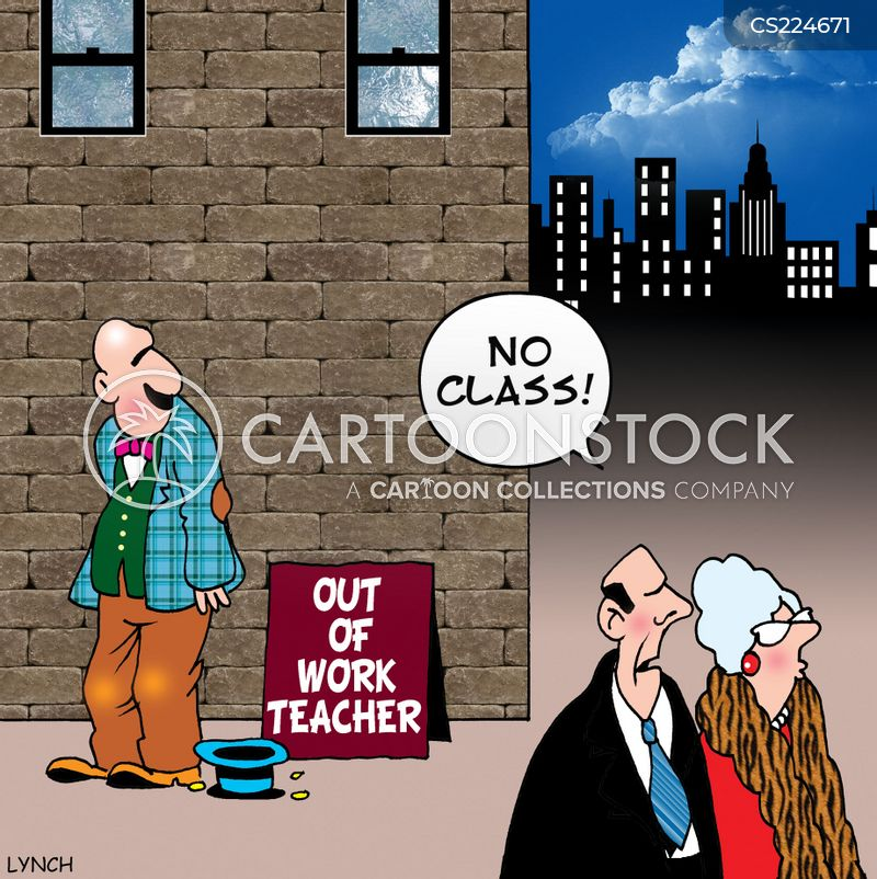 out-of-work cartoon