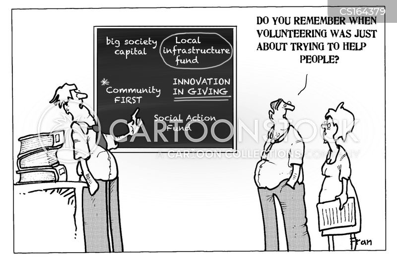 society cartoon