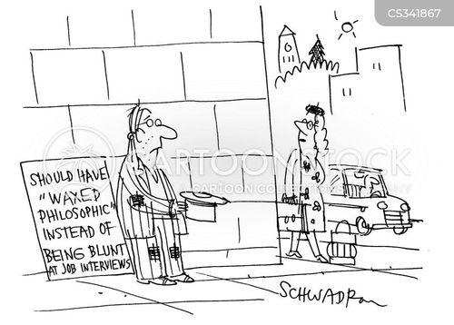 waxing philosophical cartoon