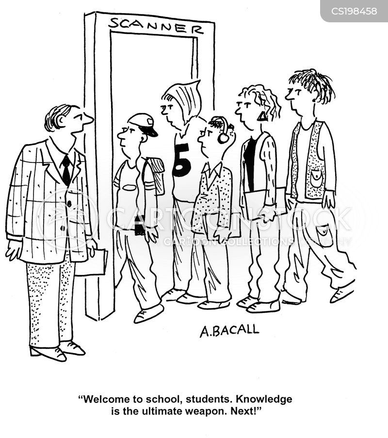 head teachers cartoon