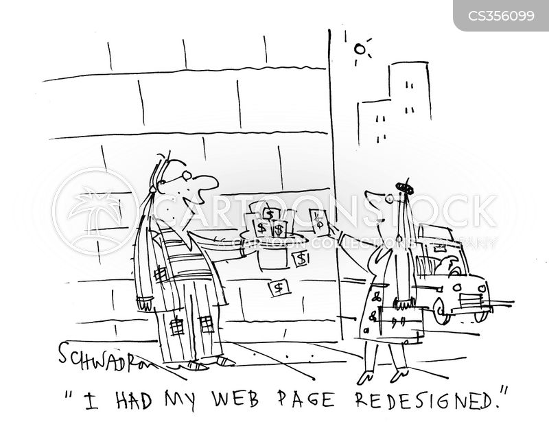 redesigned cartoon