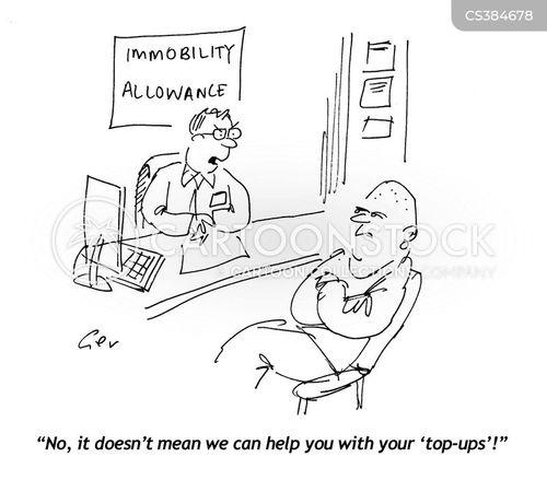 top-ups cartoon