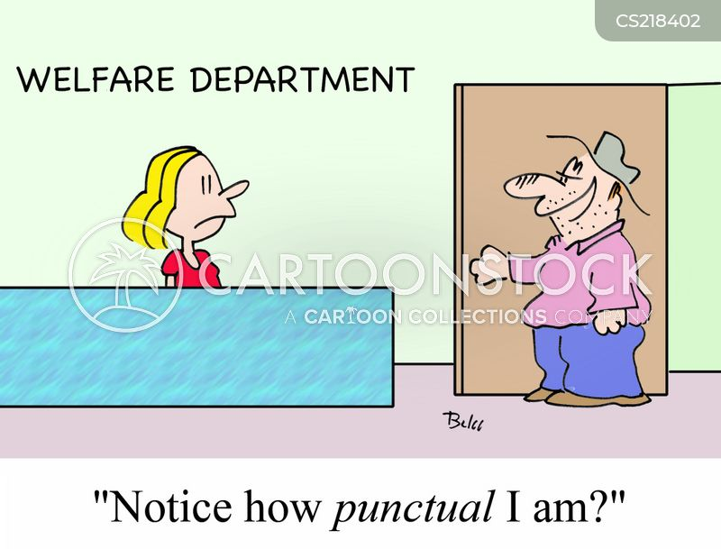 punctualities cartoon