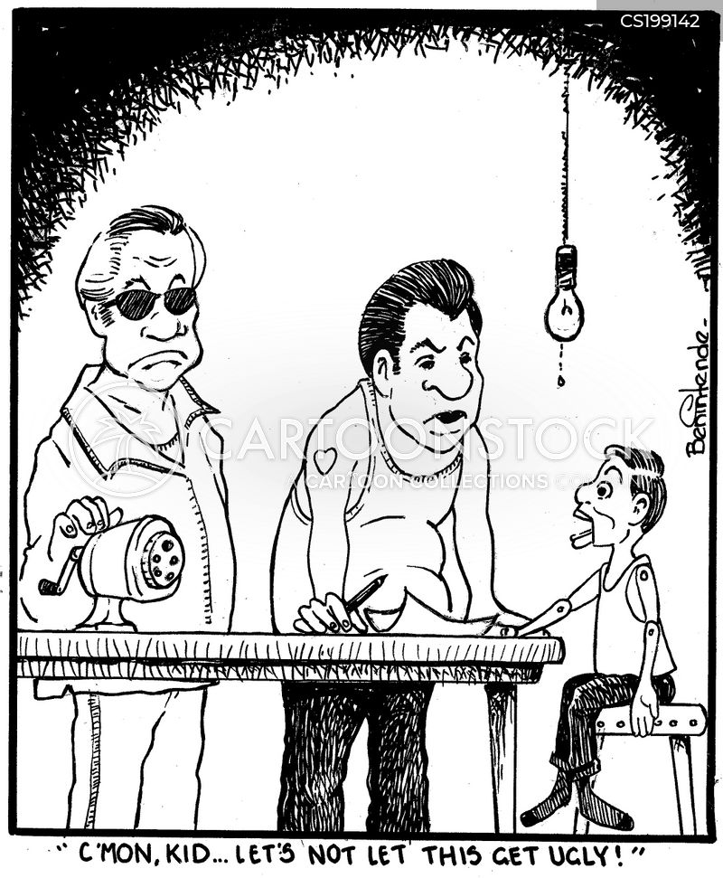 torture devices cartoon