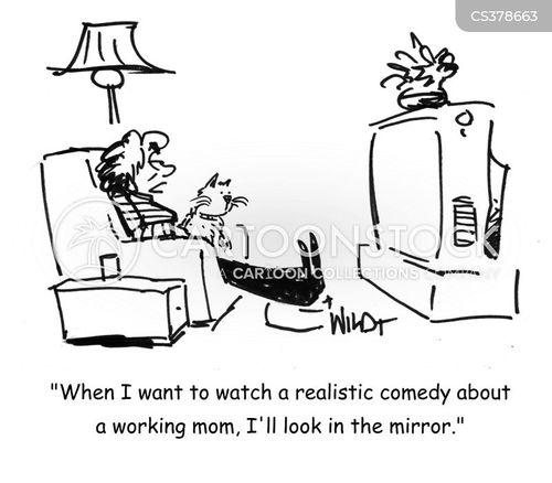 working parents cartoon