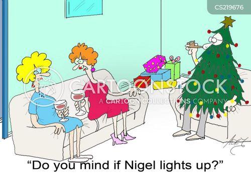 lighting up cartoon