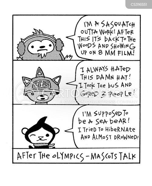 whistler cartoon