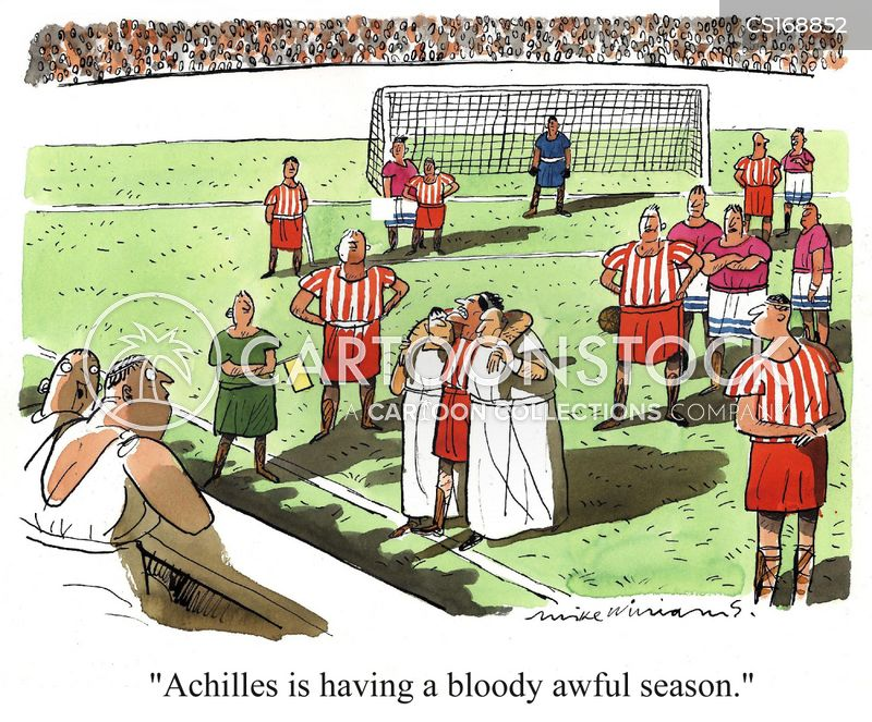 sportsman cartoon