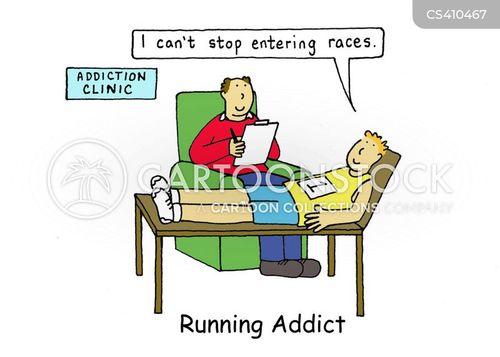 addictive personality cartoon