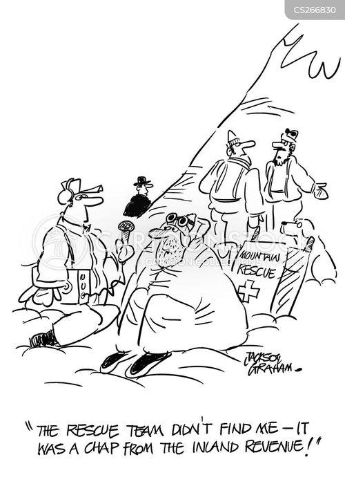 rescue team cartoon