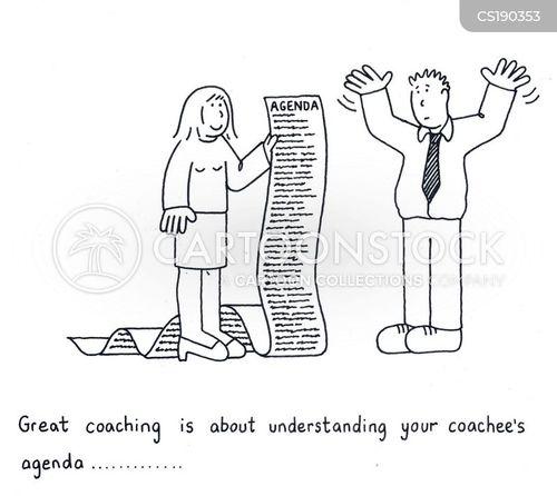 trainee cartoon