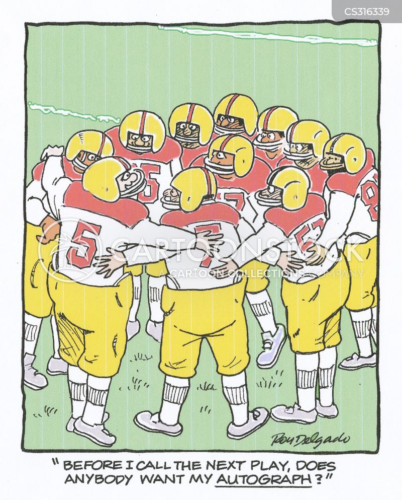 american football game cartoons and comics funny
