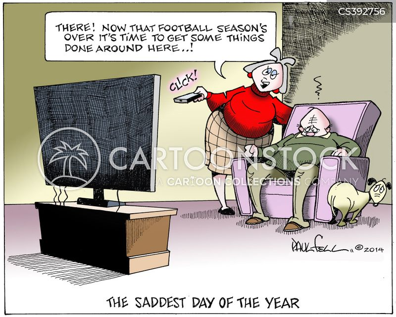 end of the season cartoon