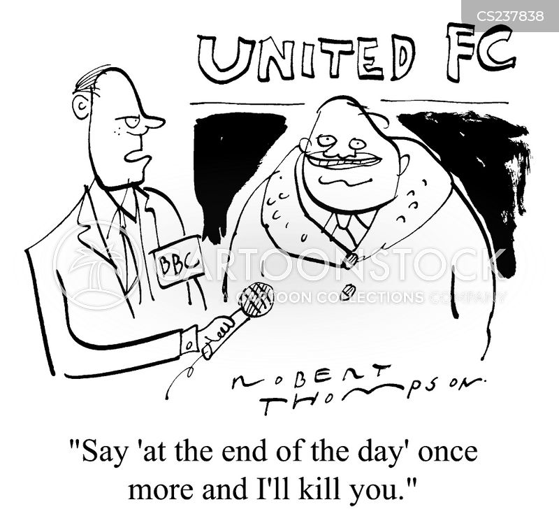 at the end of the day cartoon
