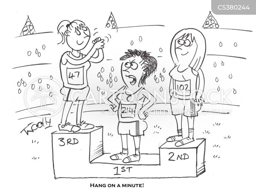 silver medal cartoon