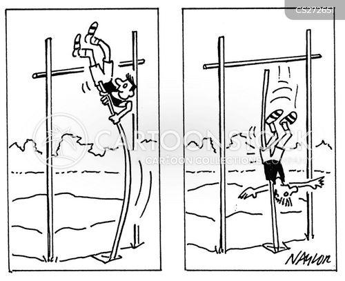 high jumper cartoon