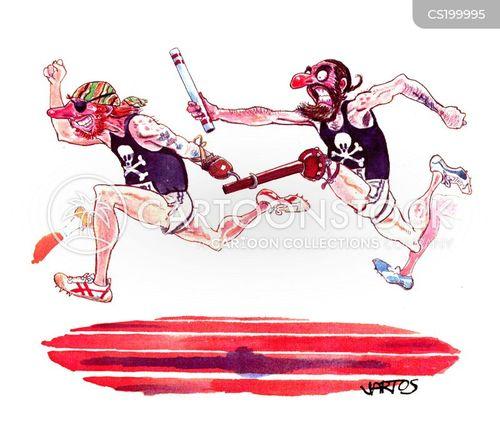 wooden leg cartoon