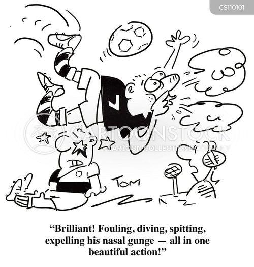 phlegm cartoon