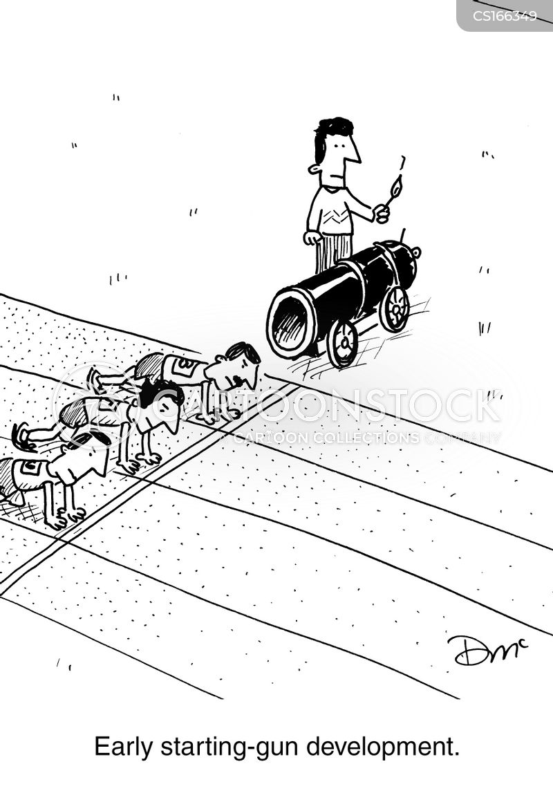 accident waiting to happen cartoon
