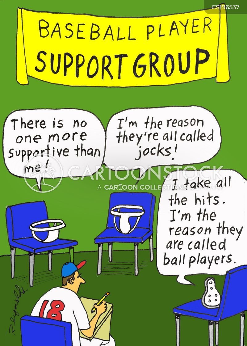 therapy group cartoon