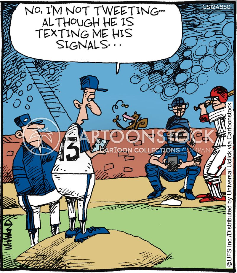 major league cartoon