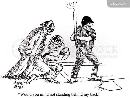 stood cartoon