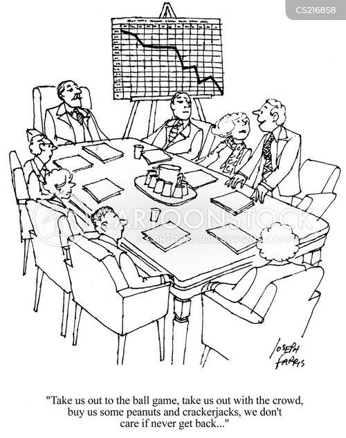 flip charts cartoon